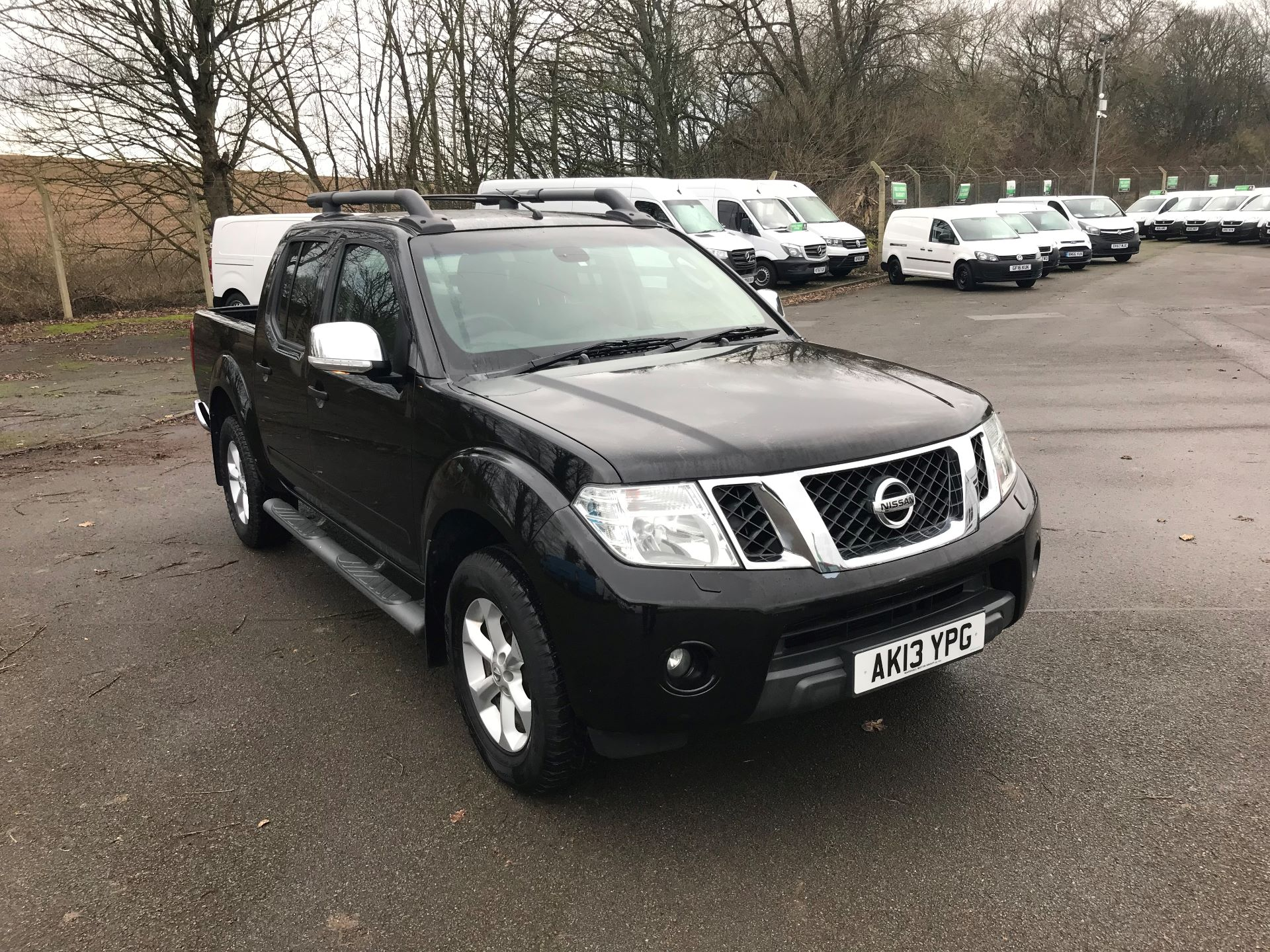 2013 Nissan Navara DOUBLE CAB  PICK UP TEKNA 2.5DCI 190 4WD **NO VAT** (AK13YPG)