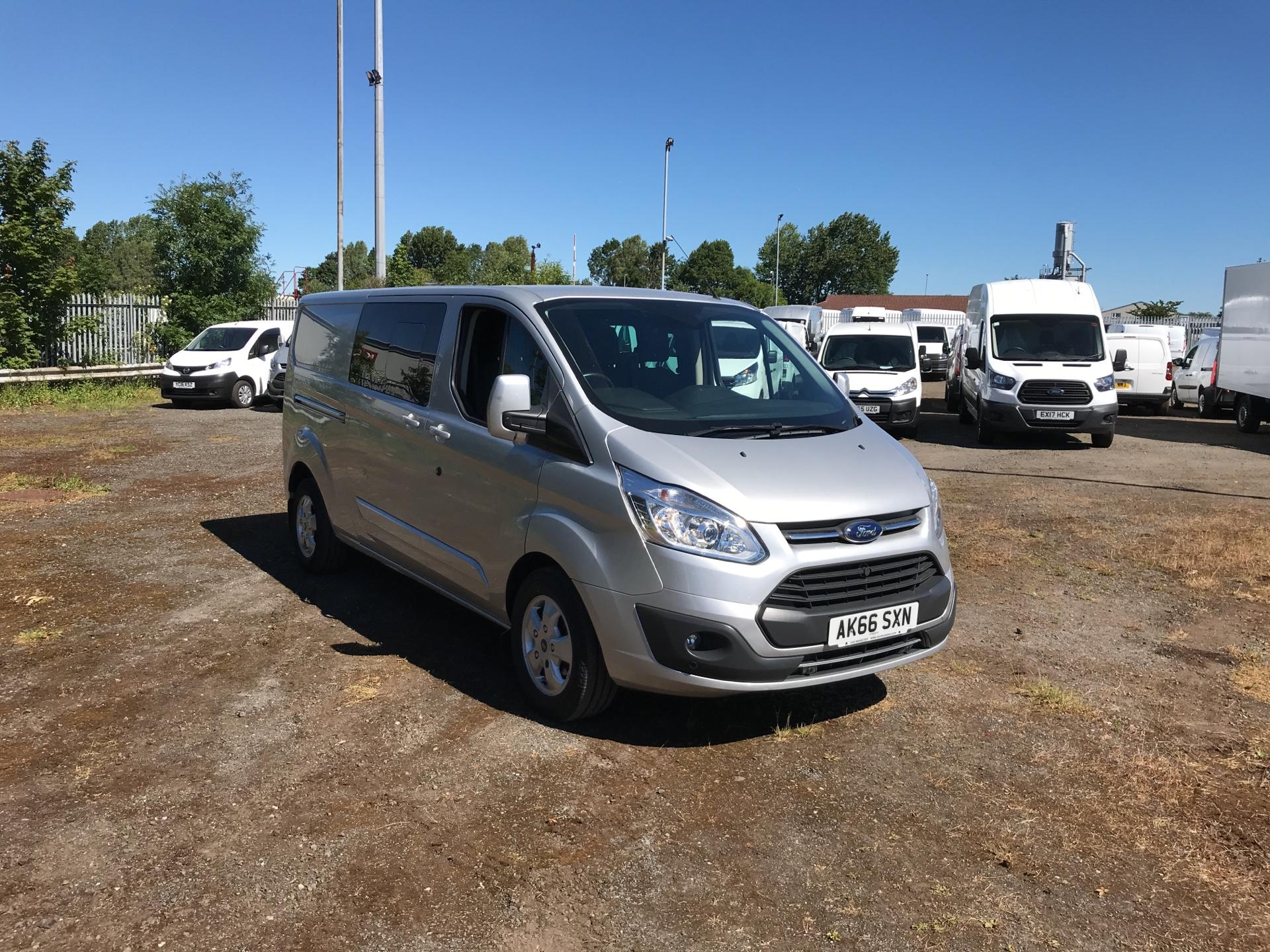 2016 Ford Transit Custom FORD TRANSIT CUSTOM 290 L2 D/CAB LIMITED 2.0TDCI 130PS