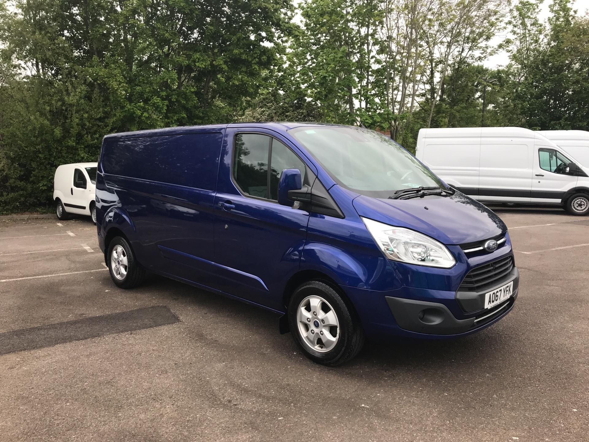 2017 Ford Transit Custom  290 L2 DIESEL FWD 2.0 TDCI 130PS LOW  ROOF LIMITED VAN EURO 6 (AO67YFK)