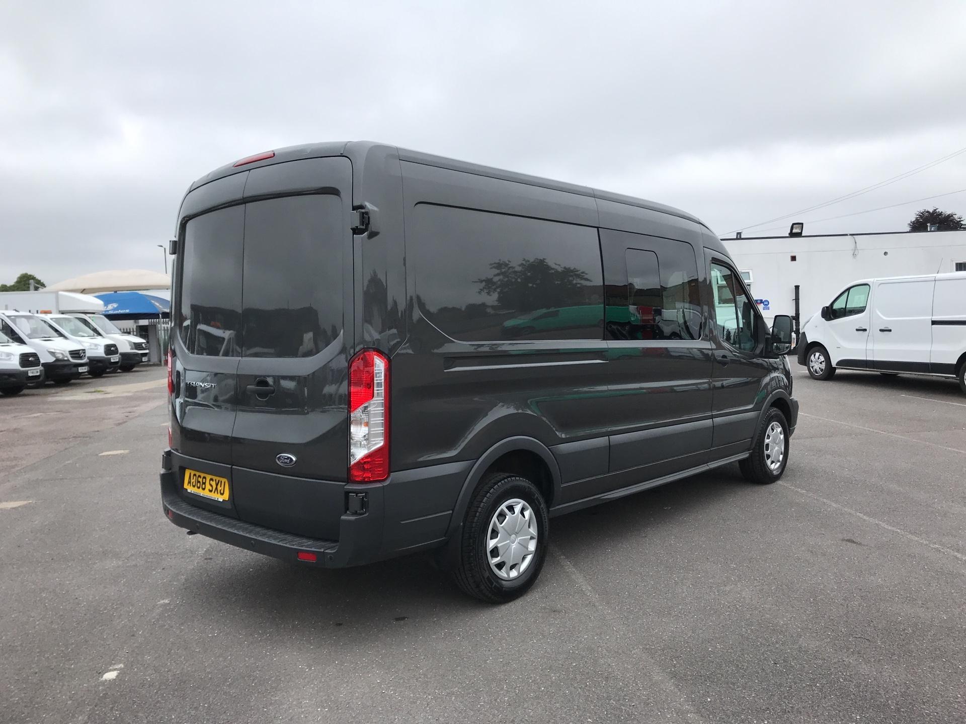 2018 Ford Transit 2.0 Tdci 130Ps H2 D/Cab Van EURO 6 (AO68SXU) Image 3