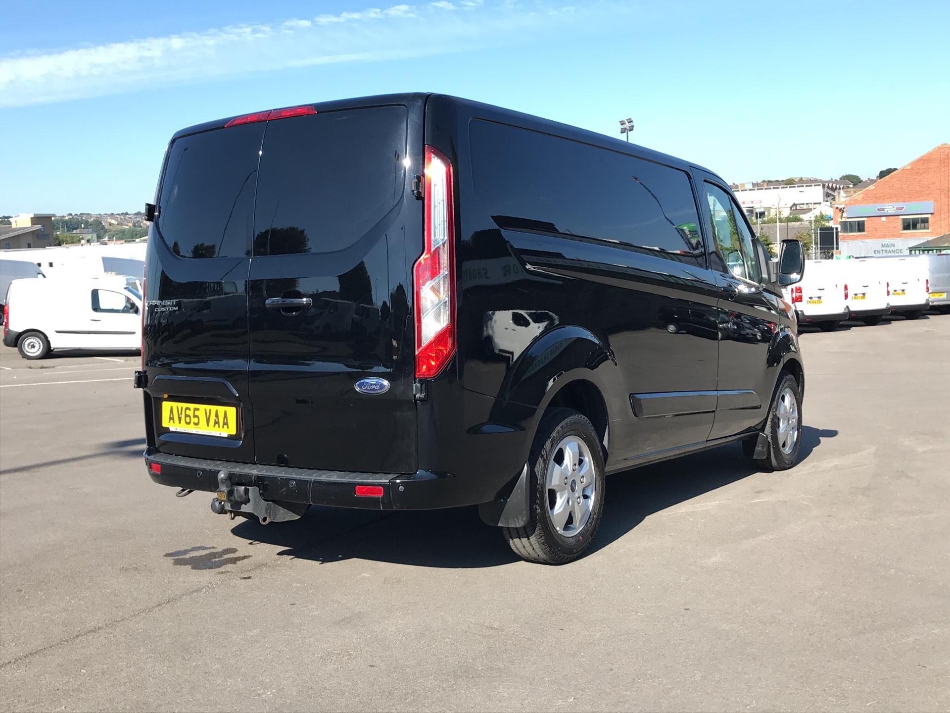 2015 Ford Transit Custom 290 L1 DIESEL FWD 2.2 TDCI 125PS LOW ROOF LIMITED VAN EURO 5 (AV65VAA) Image 3