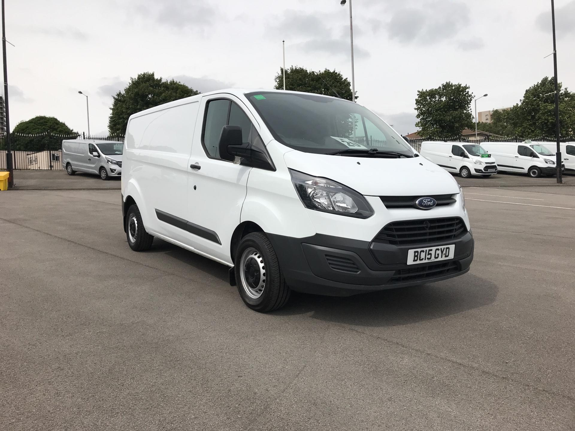 2015 Ford Transit Custom DIESEL L2 FWD 2.2 TDCI 100PS LOW ROOF VAN EURO 5 WITH REAR SEATS (BC15GYD)