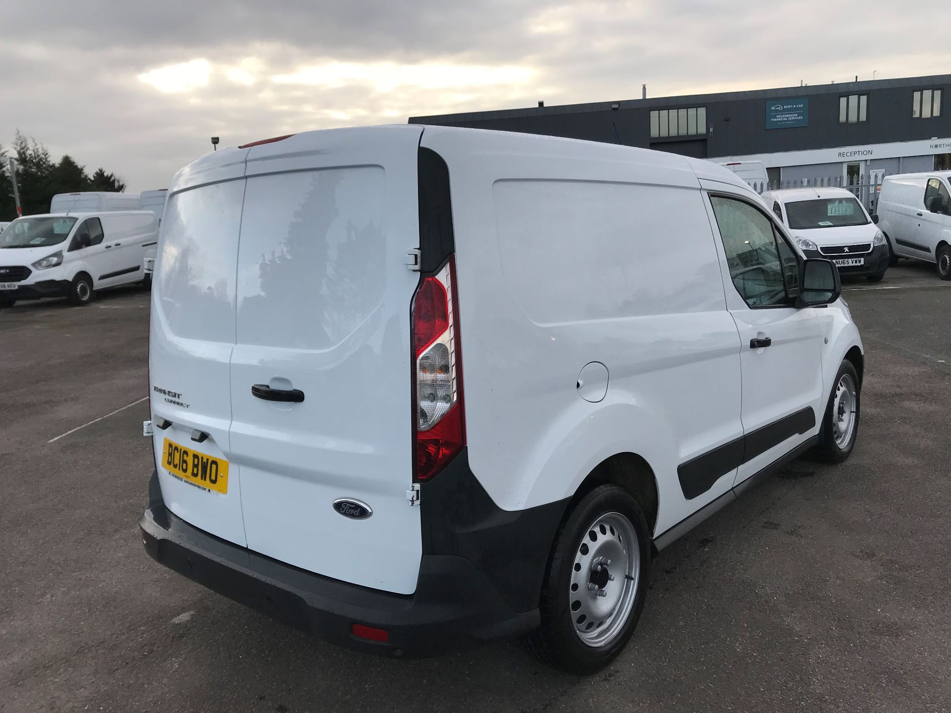 2016 Ford Transit Connect  200 L1 1.6 TDCI 75PS EURO 5 (BC16BWO) Thumbnail 4
