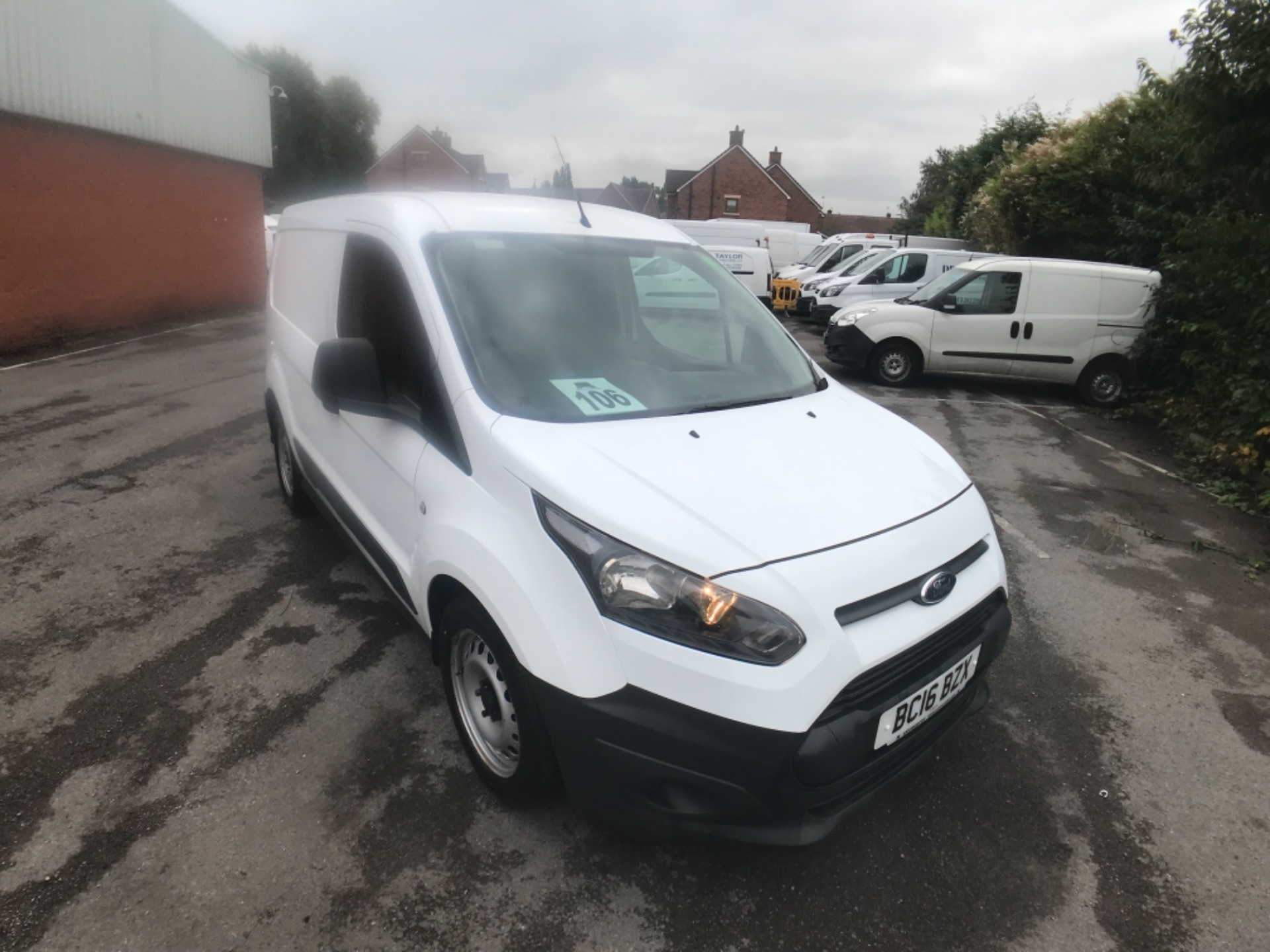 2016 Ford Transit Connect  200 L1 Diesel 1.6 TDCi 75PS Van EURO 5 (BC16BZX)