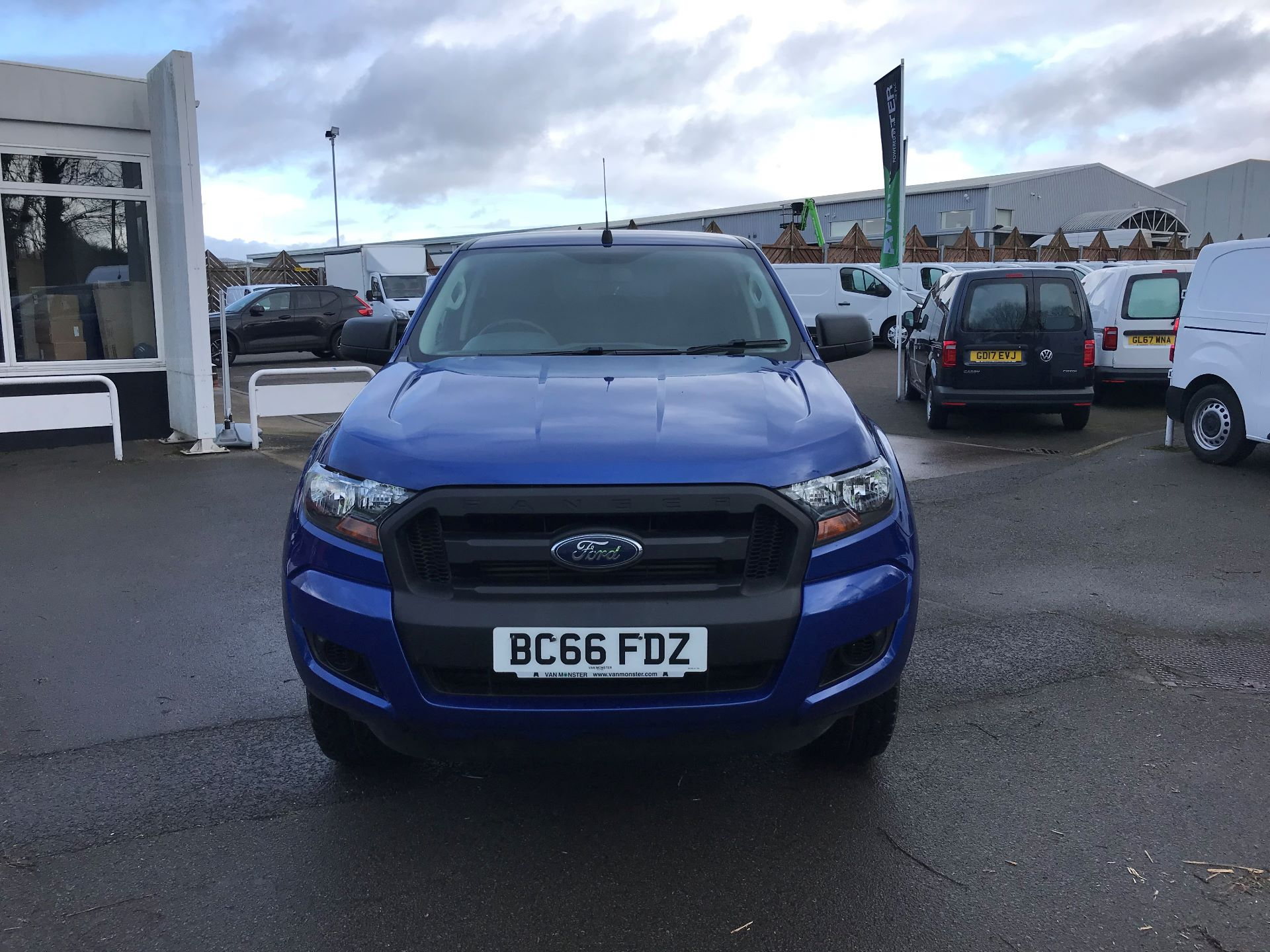 2016 Ford Ranger Pick Up Double Cab Xl 2.2 Tdci 160Ps (BC66FDZ) Image 3