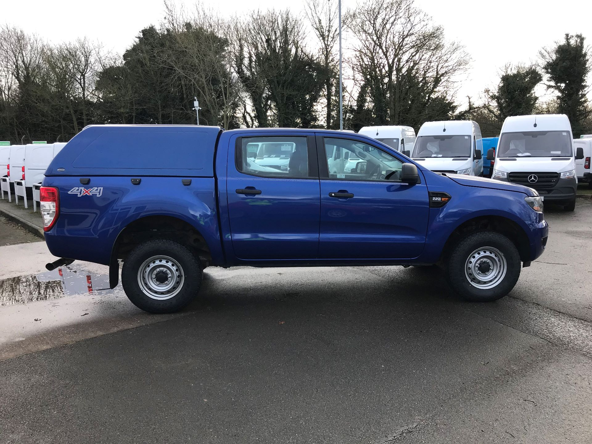 2016 Ford Ranger Pick Up Double Cab Xl 2.2 Tdci 160Ps (BC66FDZ) Image 8