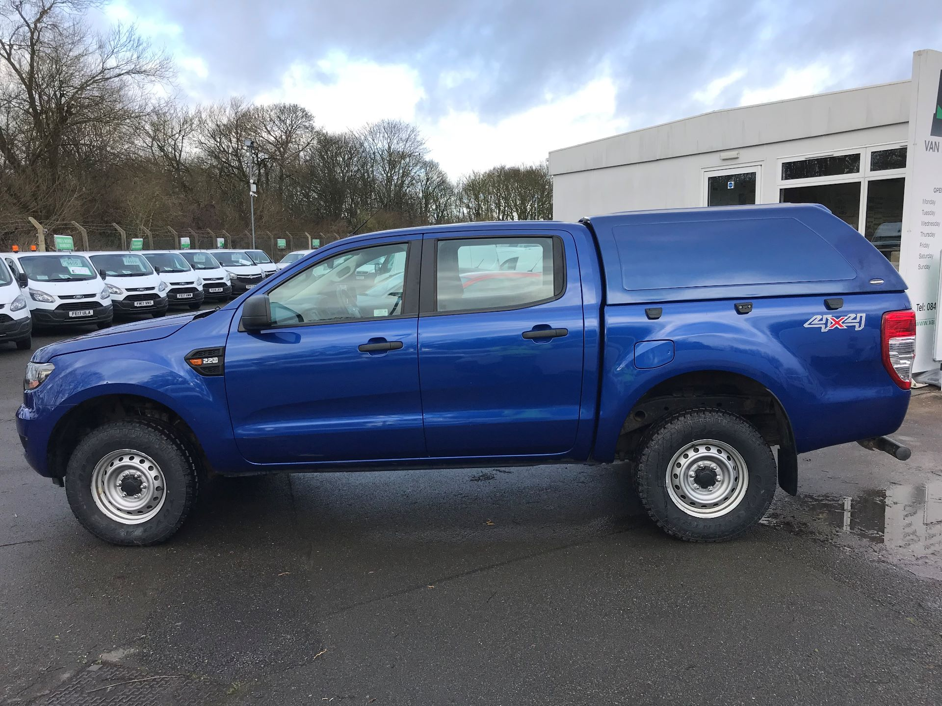 2016 Ford Ranger Pick Up Double Cab Xl 2.2 Tdci 160Ps (BC66FDZ) Image 9