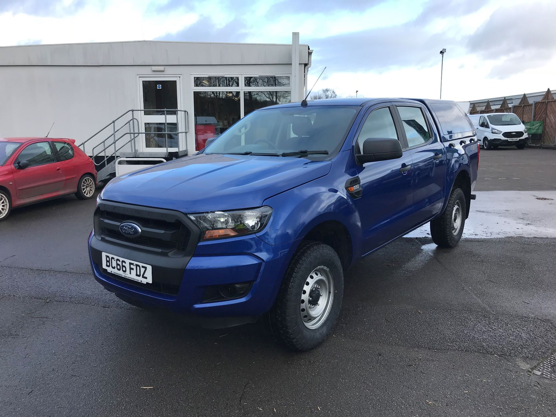2016 Ford Ranger Pick Up Double Cab Xl 2.2 Tdci 160Ps (BC66FDZ) Image 2