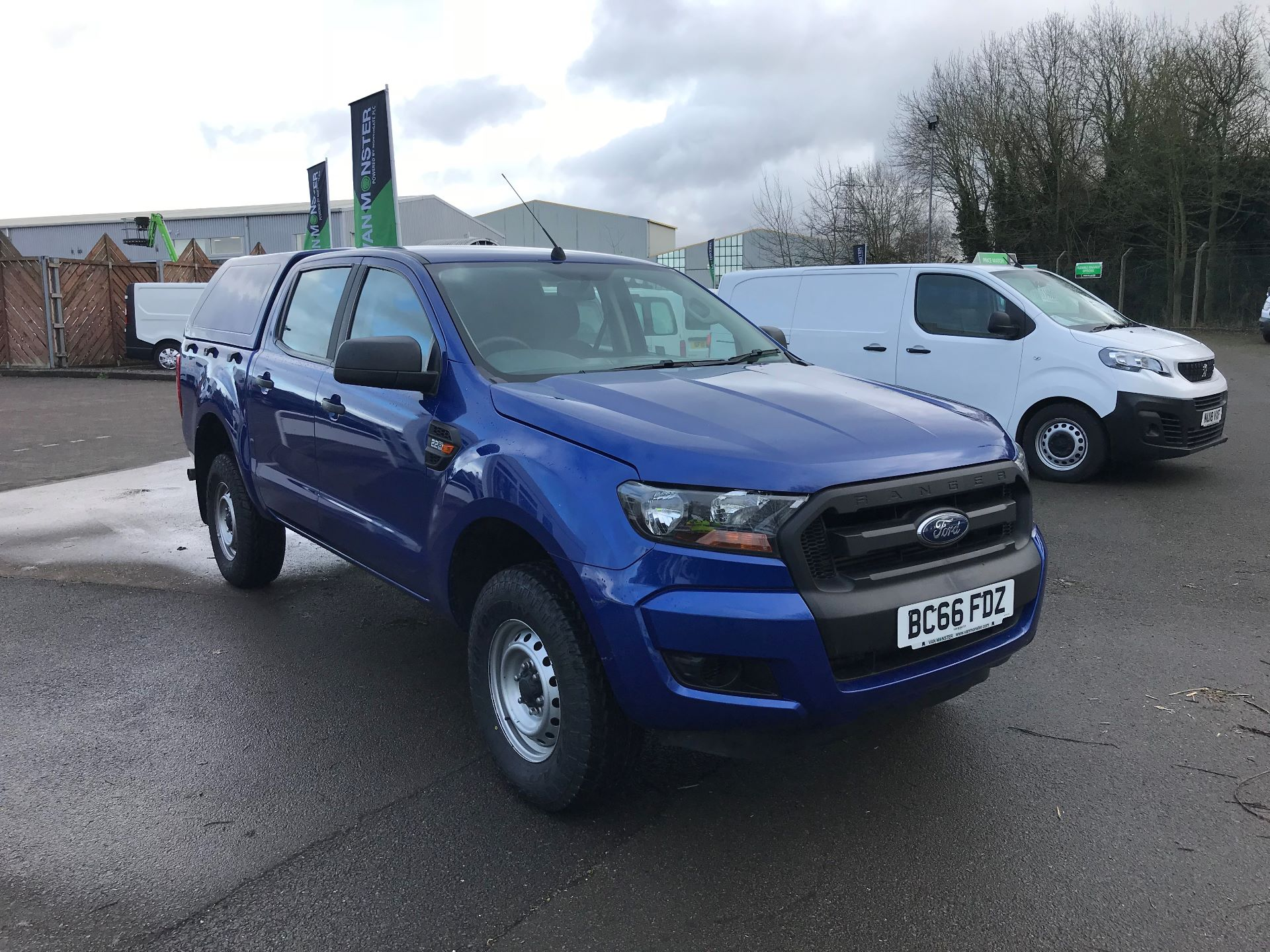 2016 Ford Ranger Pick Up Double Cab Xl 2.2 Tdci 160Ps (BC66FDZ)