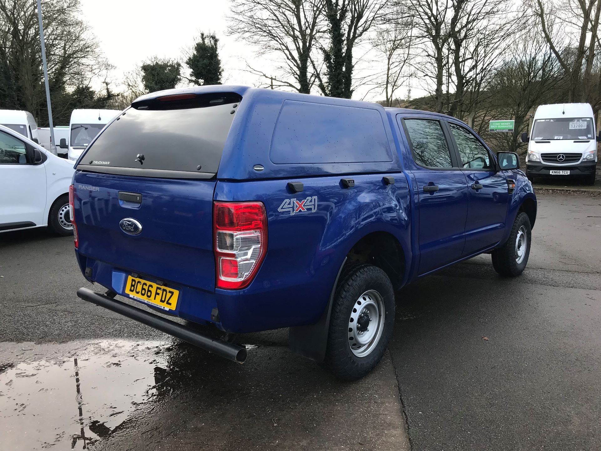 2016 Ford Ranger Pick Up Double Cab Xl 2.2 Tdci 160Ps (BC66FDZ) Image 4