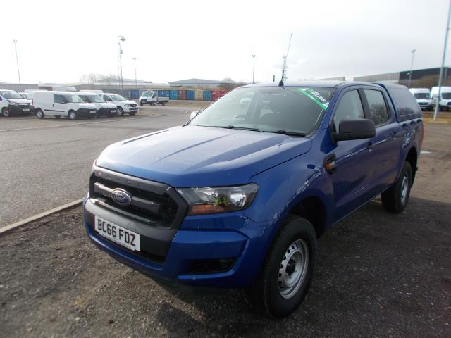 2016 Ford Ranger Double Cab Pick Up XL 2.2 EURO 5/6 (BC66FDZ) Image 3