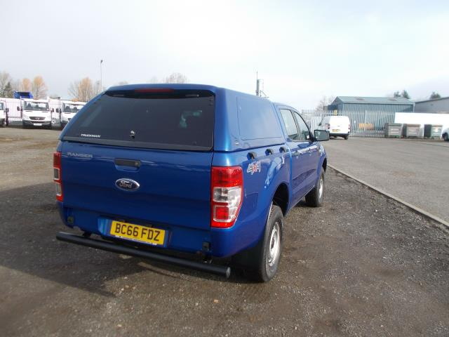 2016 Ford Ranger Double Cab Pick Up XL 2.2 EURO 5/6 (BC66FDZ) Image 6