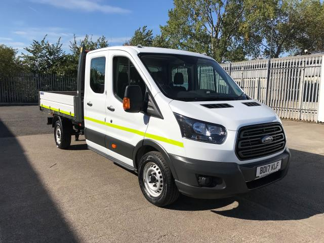 2017 Ford Transit T350 DOUBLE CAB TIPPER 130PS EURO 6 (BD17KLF)