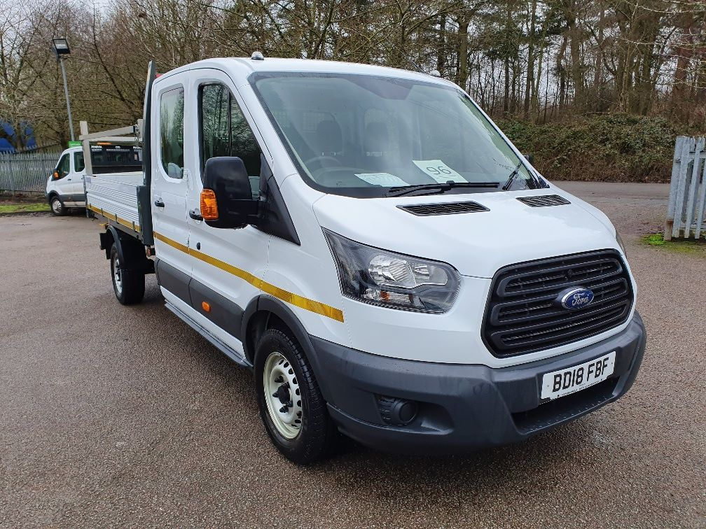 2018 Ford Transit 350 L4 DROP SIDE 130PS EURO 6 D/CAB (BD18FBF)