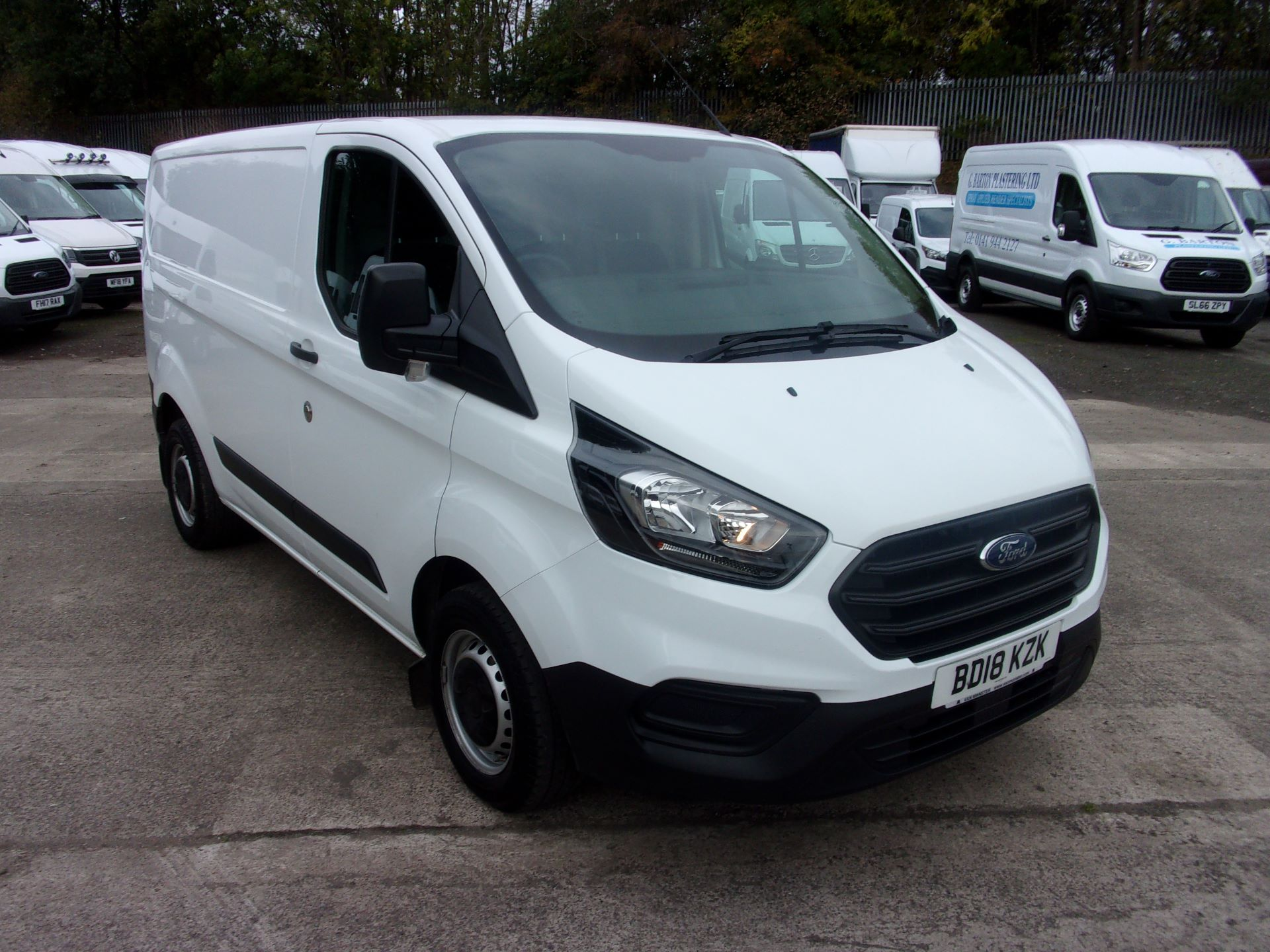 2018 Ford Transit Custom 300 L1 DIESEL FWD 2.0 TDCI 105PS LOW ROOF EURO 6 (BD18KZK)