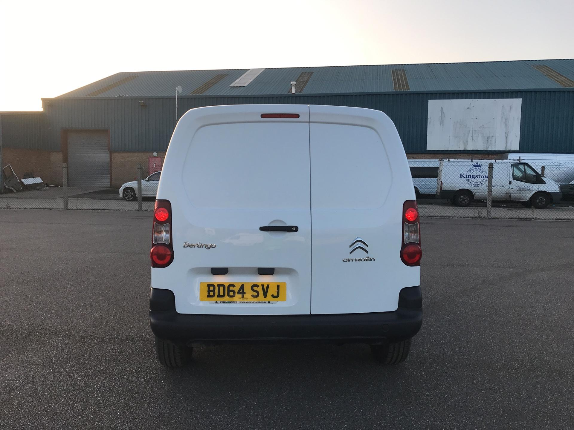 2014 Citroen Berlingo L1 DIESEL 1.6 HDI 625KG X 90PS (SLD) EURO 5. VALUE RANGE VEHICLE - CONDITION REFLECTED IN PRICE (BD64SVJ) Image 4