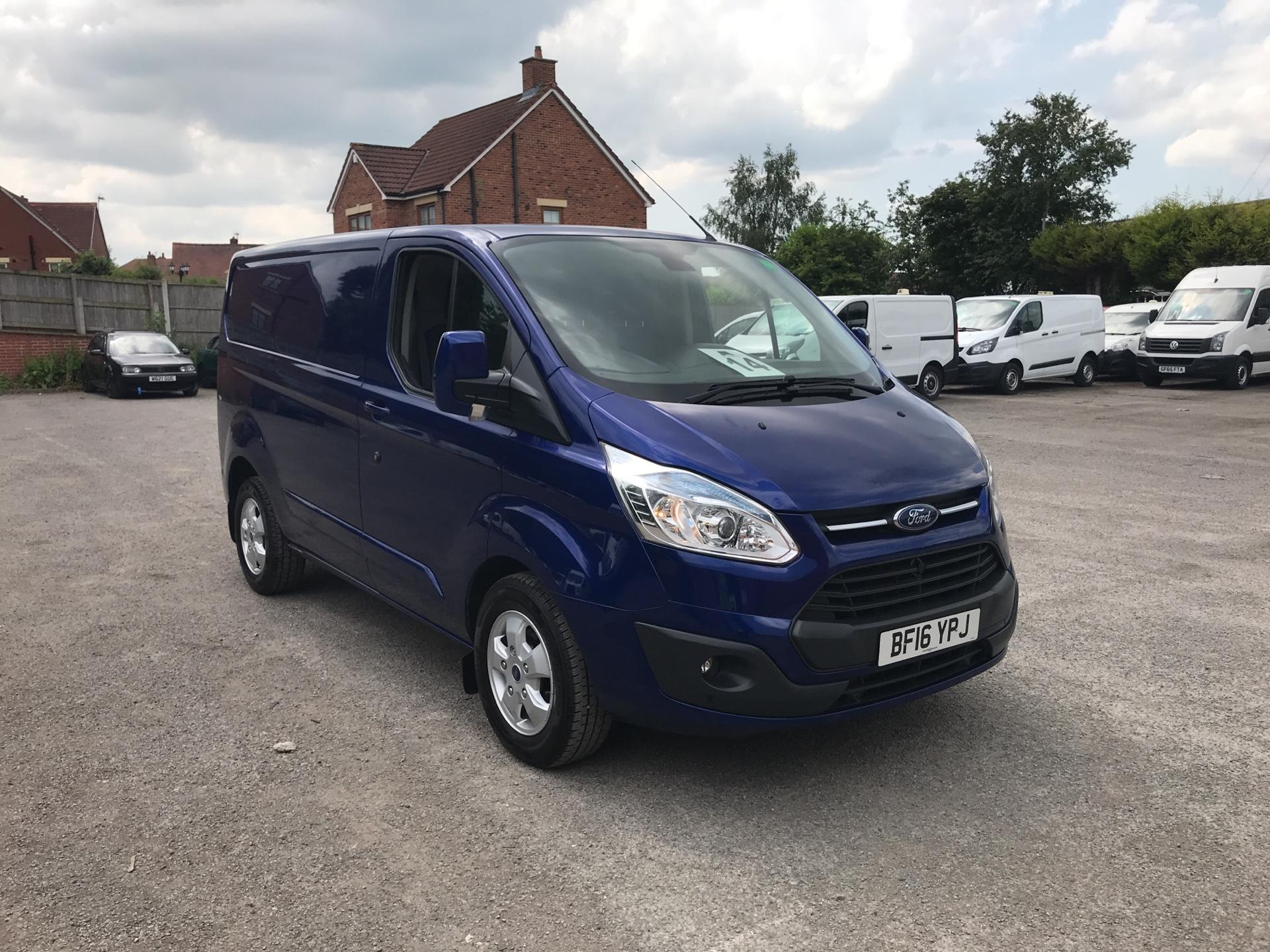 2016 Ford Transit Custom L1 2.2 Tdci 125Ps SWB  Low Roof Limited Van Euro 5 (BF16YPJ)