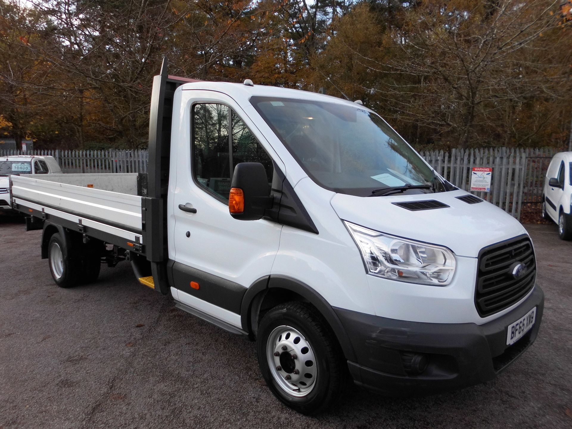 2015 Ford Transit  350 L4 SINGLE CAB Dropside 125PS EURO 5 (BF65XWD)