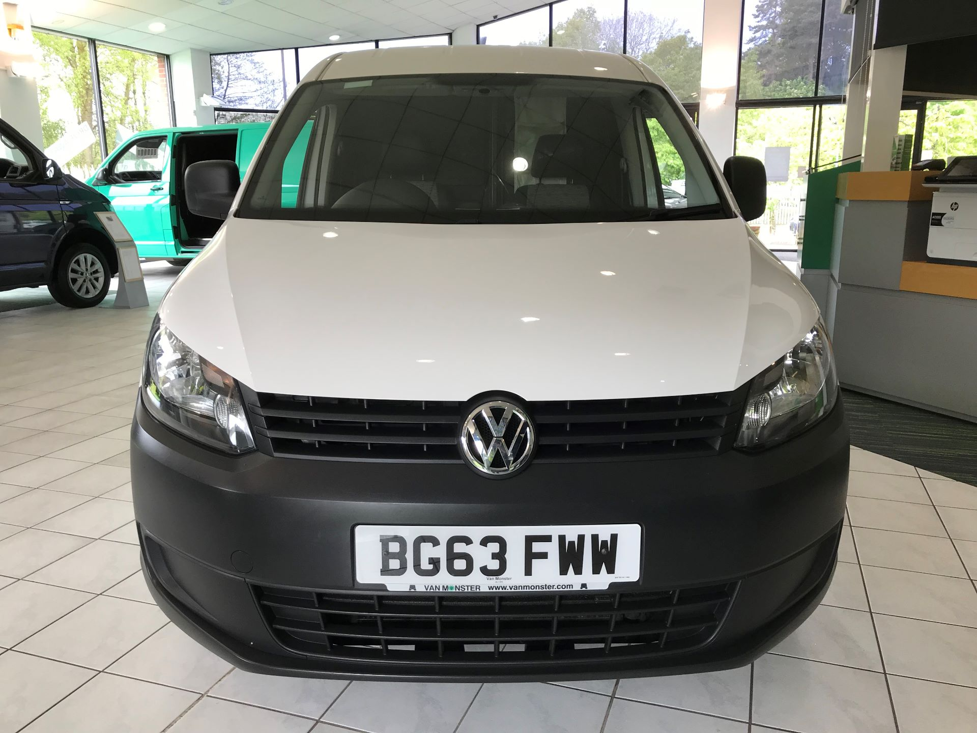 2014 Volkswagen Caddy Maxi 2.0 102PS BLUEMOTION TECH 102 STARTLINE  *VALUE RANGE VEHICLE CONDITION REFLECTED IN PRICE* (BG63FWW) Image 20