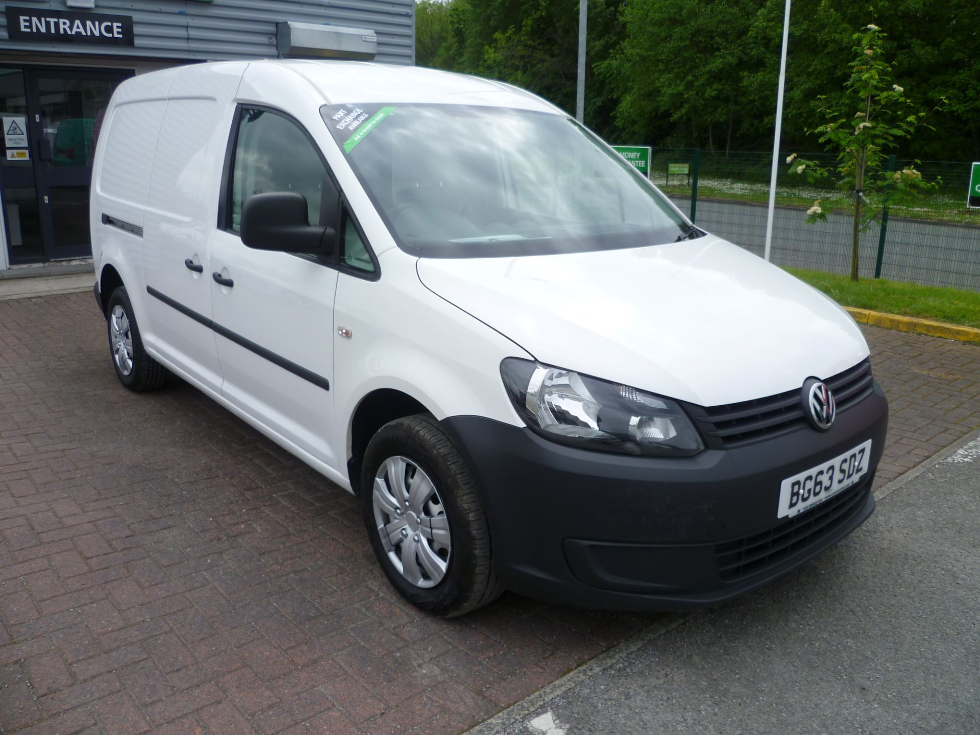 2014 Volkswagen Caddy 1.6 BLUEMOTION 102PS STARTLINE EURO 5 (BG63SDZ)