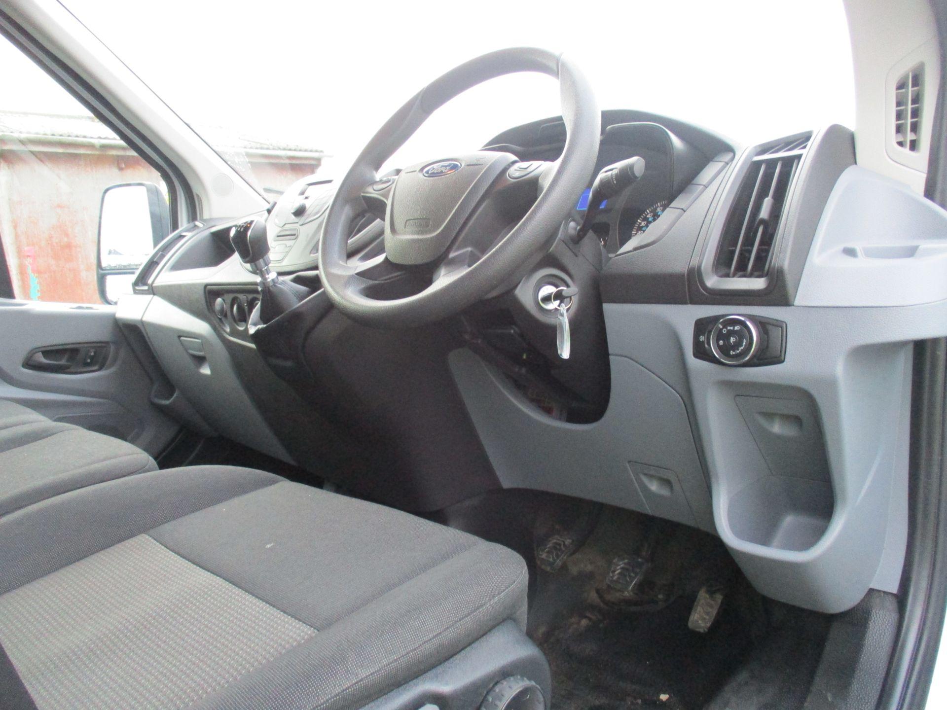 2018 Ford Transit 350 L3 H3 VAN 130PS EURO 6 (BG68TXN) Image 13