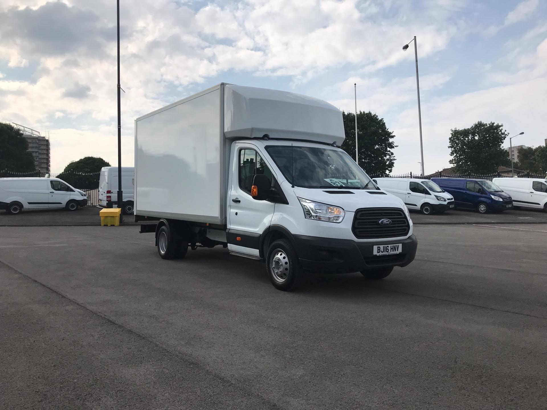 2016 Ford Transit 2.2 Tdci 125Ps DUAL WHEEL LUTON BOX VAN  (BJ16HNV)