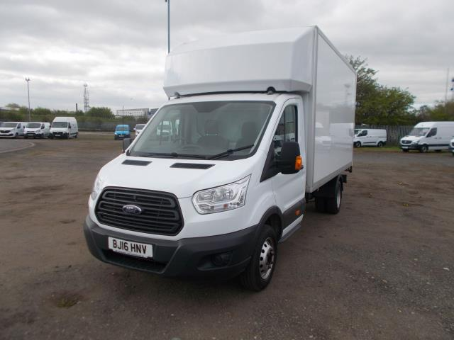 2016 Ford Transit 2.2 TDCI HEAVY DUTY LUTON WITH TAIL-LIFT (BJ16HNV) Image 3