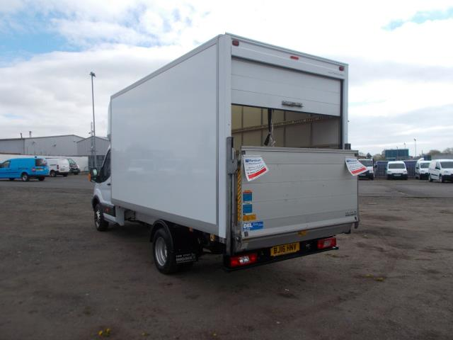 2016 Ford Transit 2.2 TDCI HEAVY DUTY LUTON WITH TAIL-LIFT (BJ16HNV) Image 4