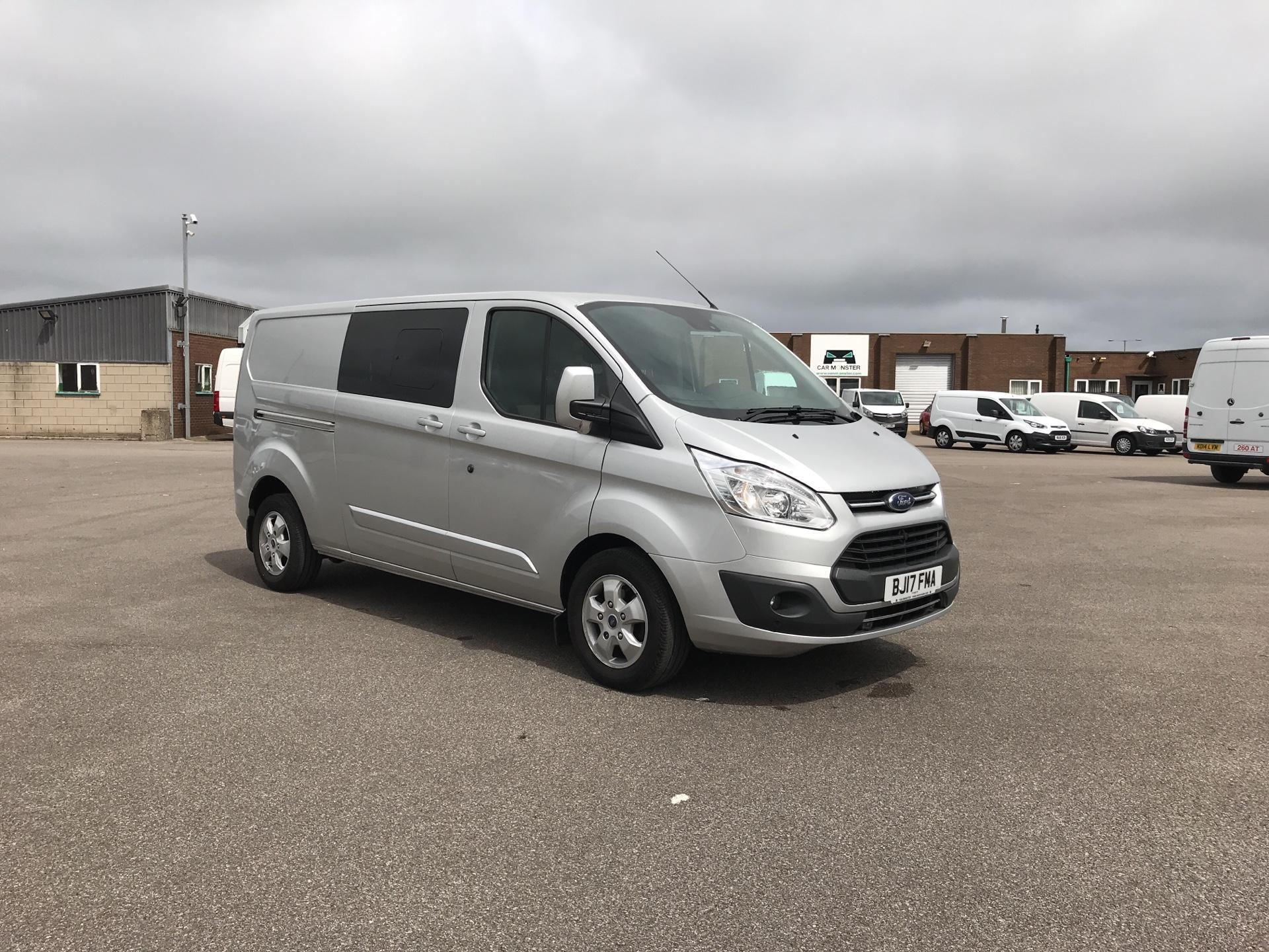 2017 Ford Transit Custom 290 L2 DIESEL FWD 2.2 TDCI 130PS LOW ROOF LIMITED CREW VAN EURO 5 (BJ17FMA)