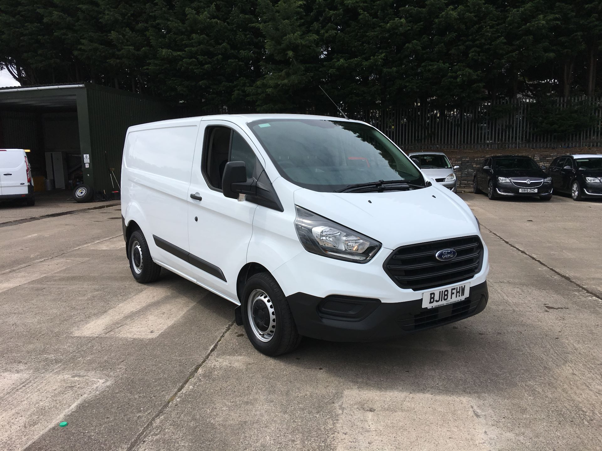 2018 Ford Transit Custom 300 L1 DIESEL FWD 2.0 TDCI 105PS LOW ROOF EURO 6 (BJ18FHW)