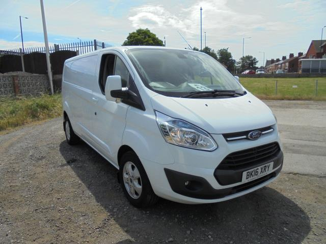 2016 Ford Transit Custom 2.2 Tdci 125Ps Low Roof Limited Van (BK16XRY)