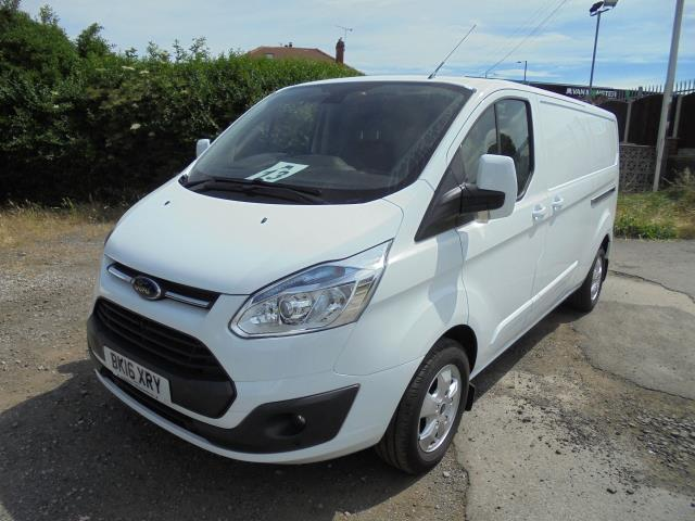 2016 Ford Transit Custom 2.2 Tdci 125Ps Low Roof Limited Van (BK16XRY) Image 27