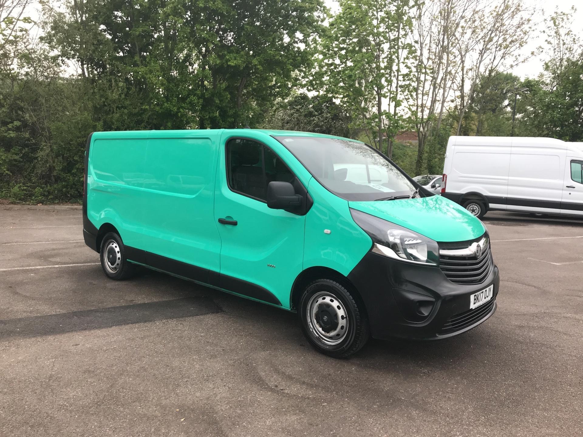 2017 Vauxhall Vivaro 2900 1.6Cdti 95Ps H1 L2 Van Euro 6 (BK17OJY)