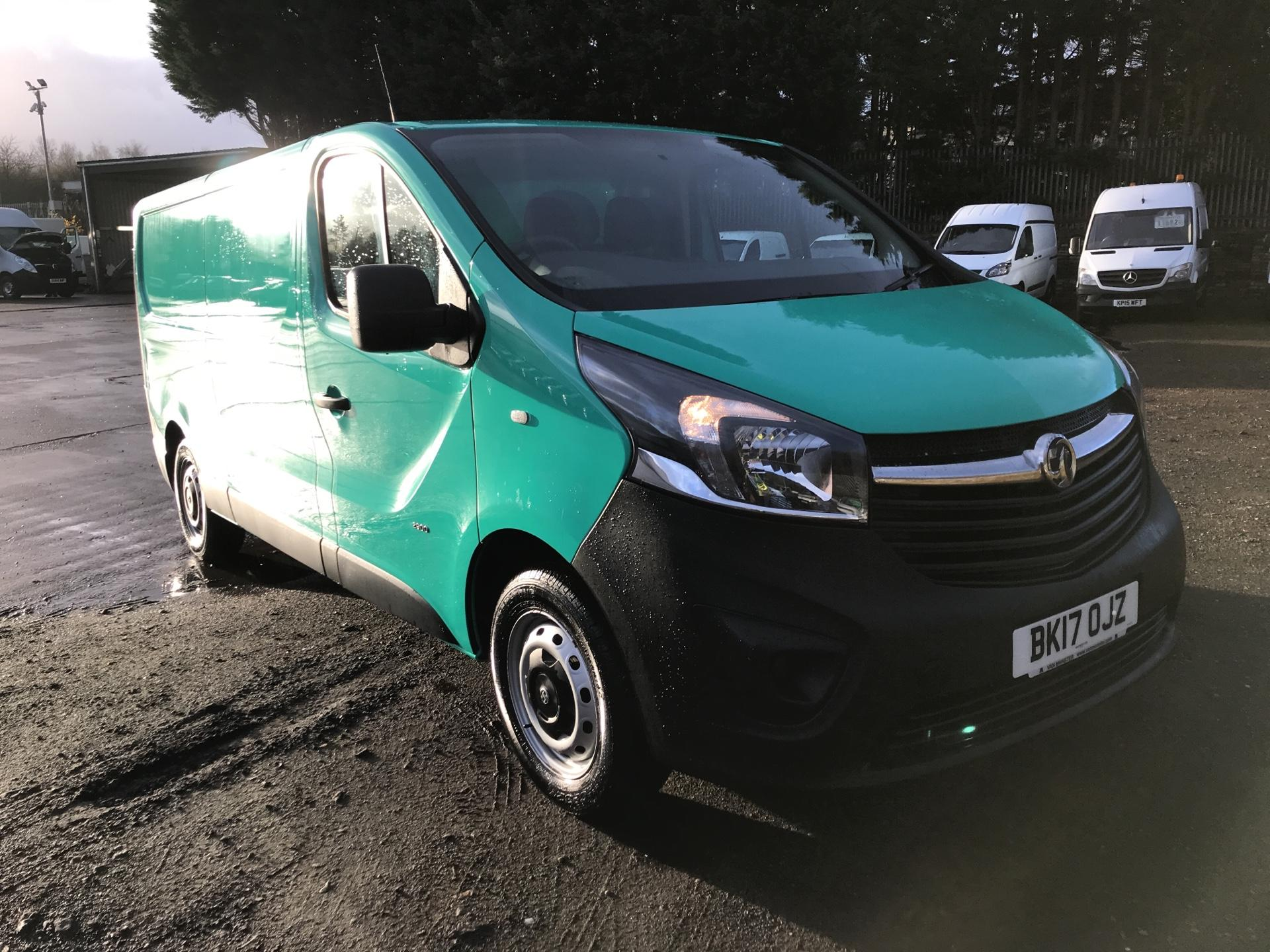 2017 Vauxhall Vivaro L2 H1 2900 1.6 CDTI 95PS EURO 6 (VALUE RANGE VEHICLE - CONDITION REFLECTED IN PRICE) (BK17OJZ)