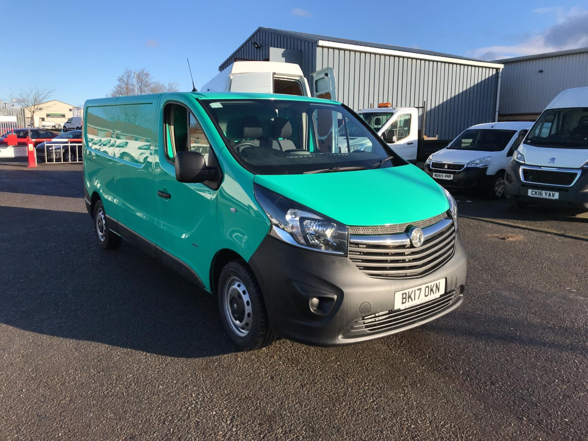 2017 Vauxhall Vivaro L2 H1 2900 1.6CDTI 95PS EURO 6 *VALUE RANGE VEHICLE CONDITION REFLECTED IN PRICE* (BK17OKN)