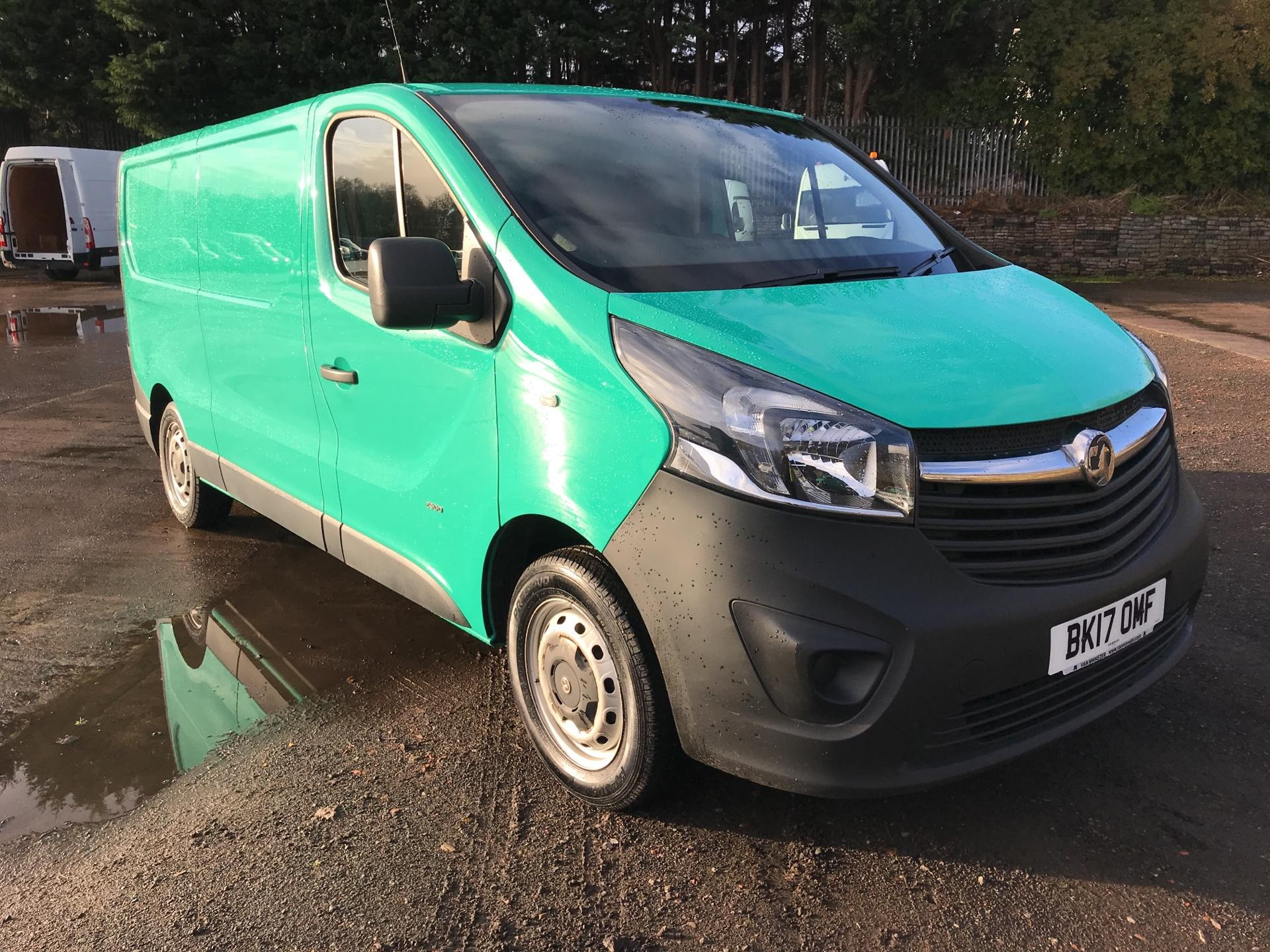 2017 Vauxhall Vivaro L2 H1 2900 1.6 CDTI 95PS EURO 6 (VALUE RANGE VEHICLE - CONDITION REFLECTED IN PRICE) (BK17OMF)