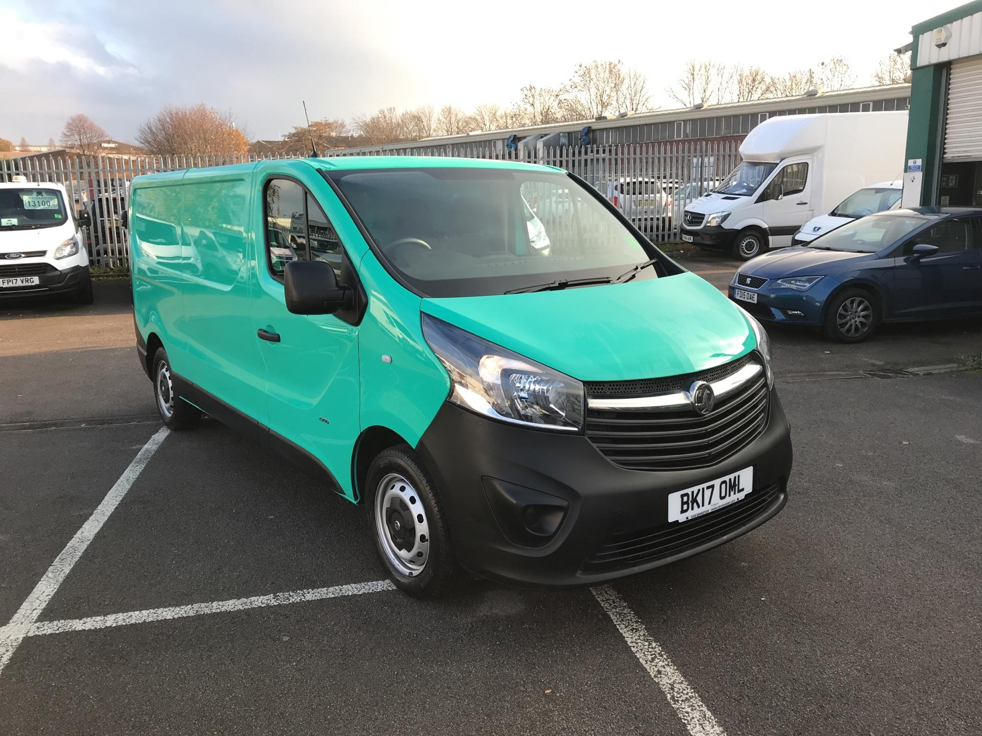 2017 Vauxhall Vivaro L2 H1 2900 1.6CDTI 95PS EURO 6 *VALUE RANGE VEHICLE - CONDITION REFLECTED IN PRICE* (BK17OML)