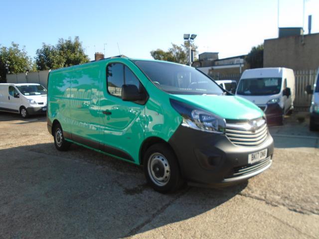 2017 Vauxhall Vivaro 2900 1.6Cdti 95Ps H1 Van (BK17ONB)