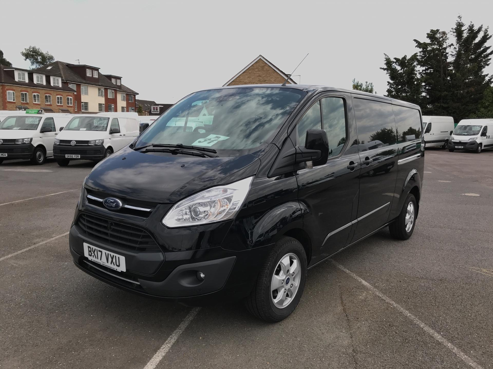 2017 Ford Transit Custom 2.0 Tdci 130Ps Low Roof Limited Van (BK17VXU) Image 7