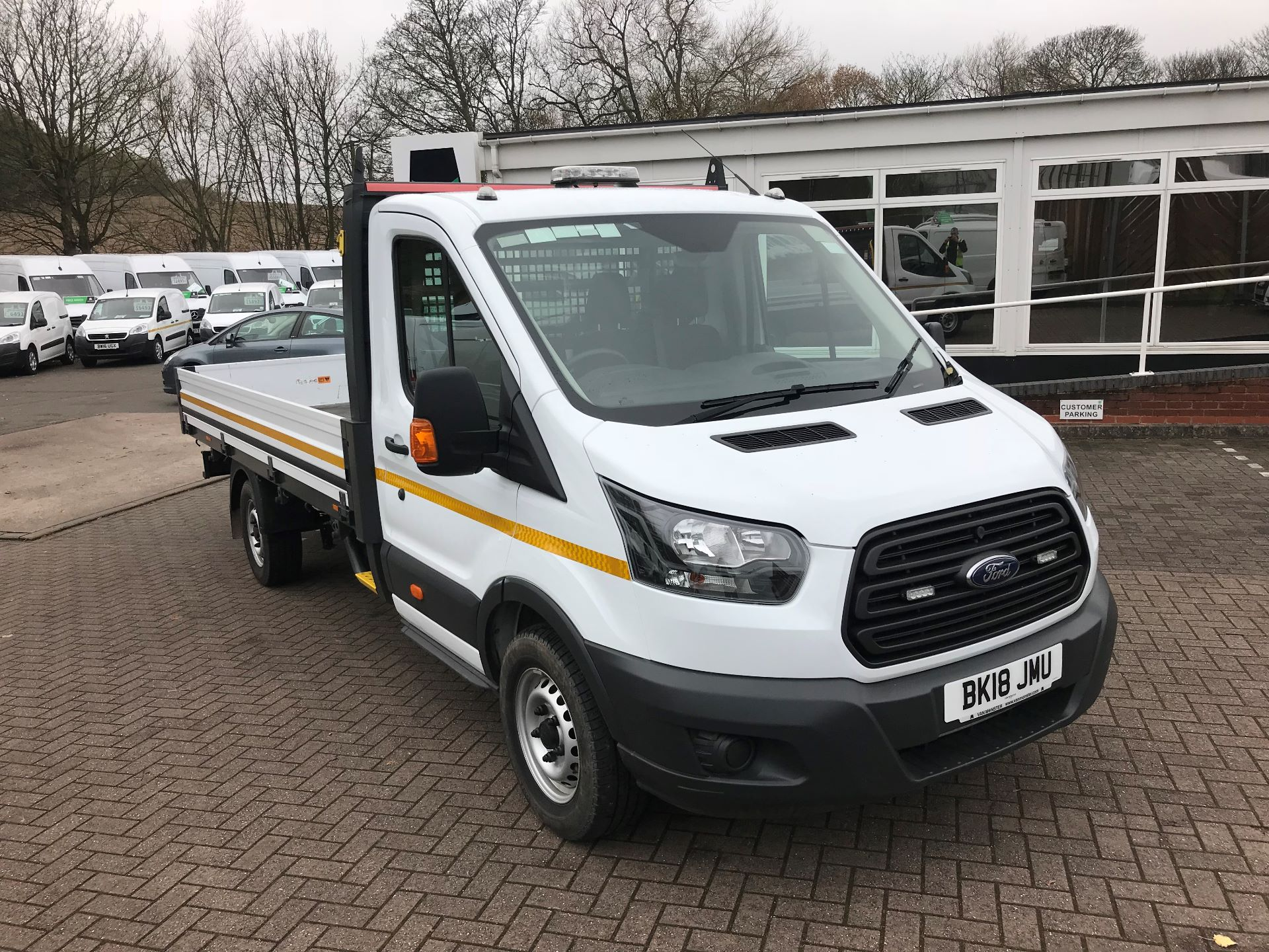 2018 Ford Transit T350 13FT DROPSIDE 130PS EURO 6 (BK18JMU)