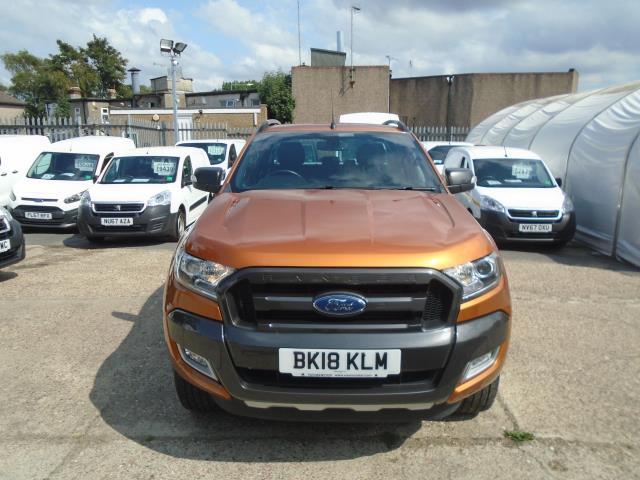 2018 Ford Ranger Pick Up Double Cab Wildtrak 3.2 Tdci 200 Auto (BK18KLM) Image 2