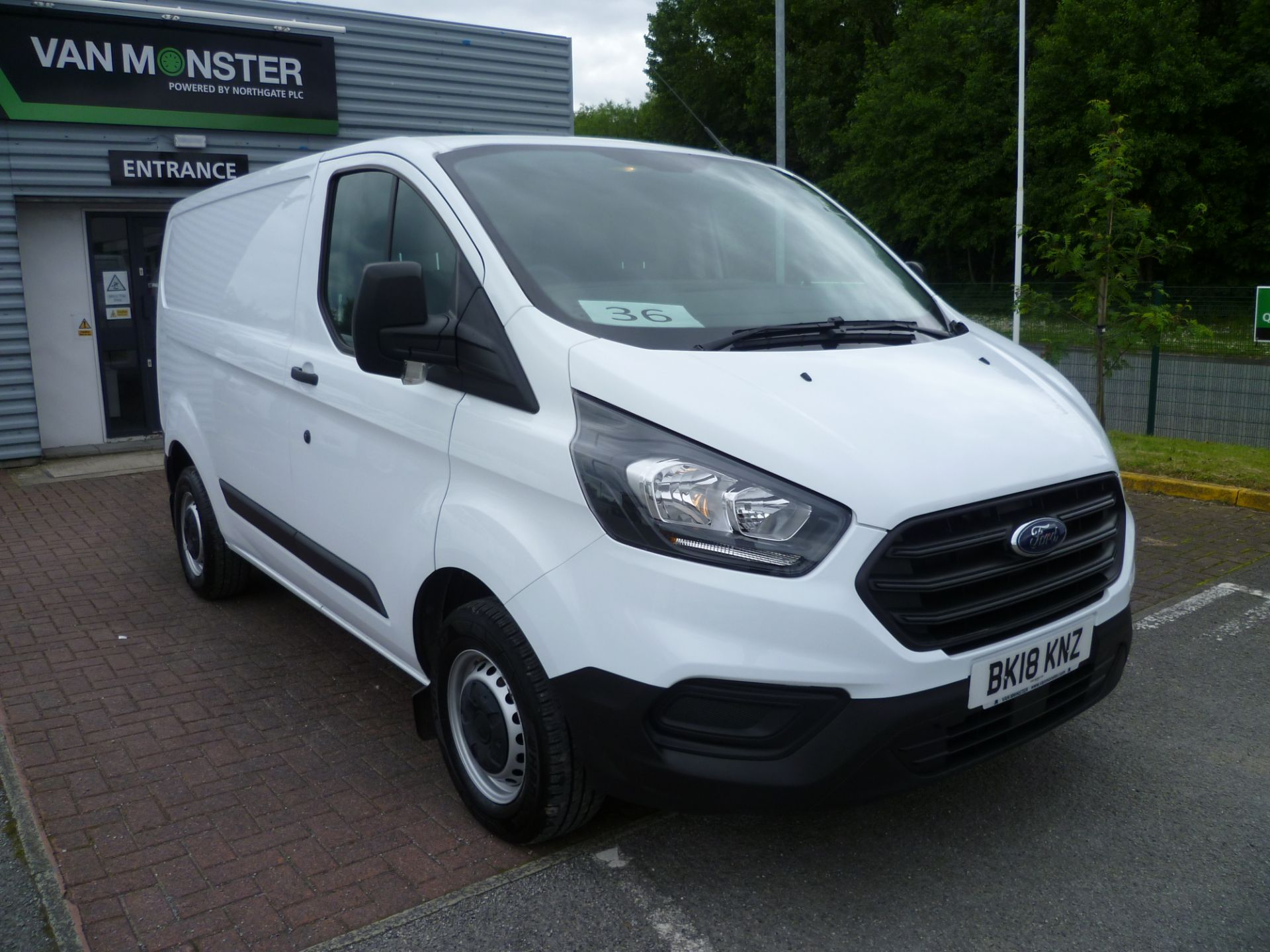 2018 Ford Transit Custom  300 L1 2.0TDCI 105PS LOW ROOF EURO 6 (BK18KNZ)