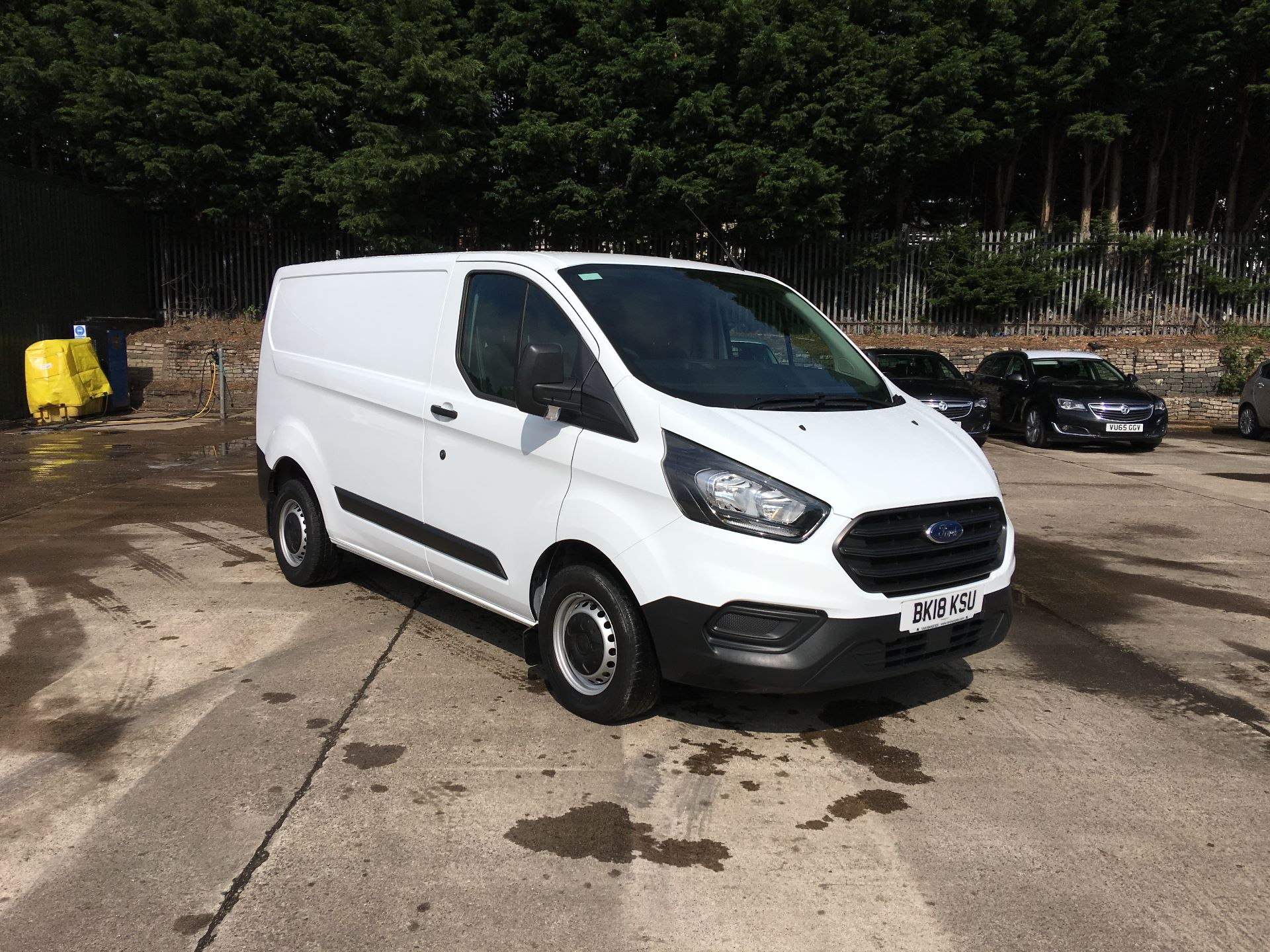 2018 Ford Transit Custom 300 L1 DIESEL FWD 2.0 TDCI 105PS LOW ROOF EURO 6 (BK18KSU)