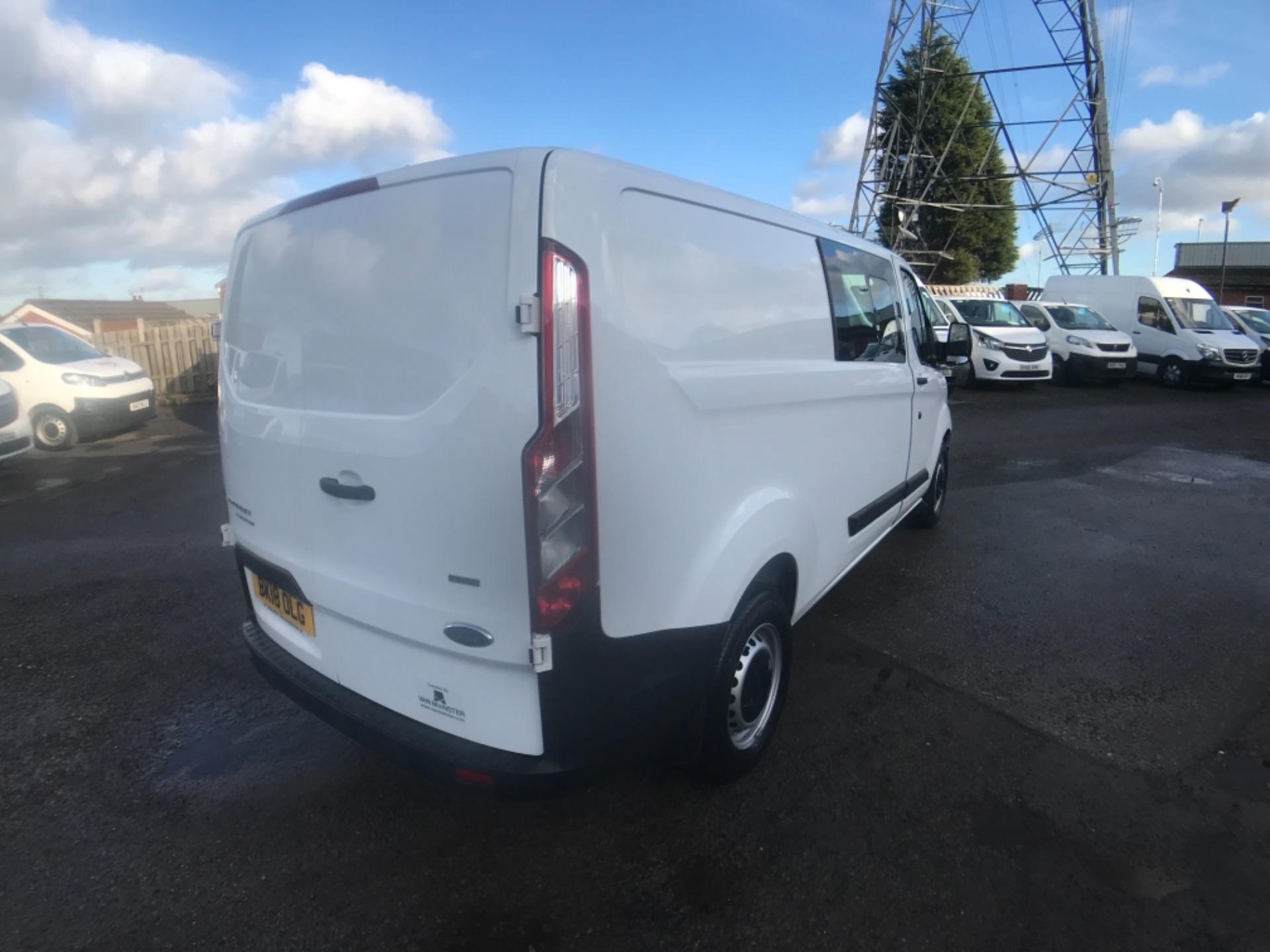 2018 Ford Transit Custom 320 L2 2.0 130ps D/Cab Euro 6 (BK18OLG) Image 7