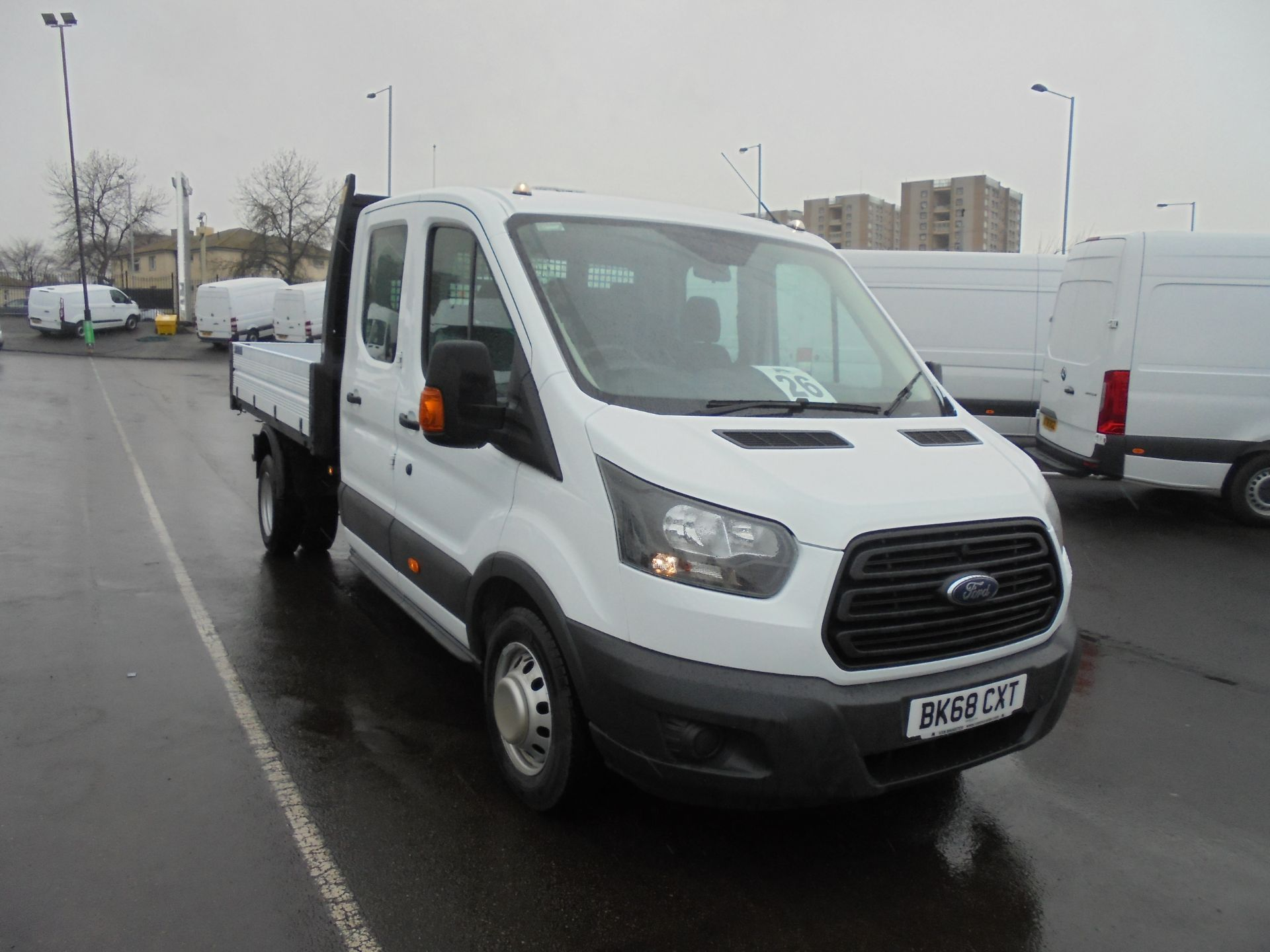 2018 Ford Transit 2.0 Tdci 130Ps 'One Stop' D/Cab Tipper [1 Way] (BK68CXT)