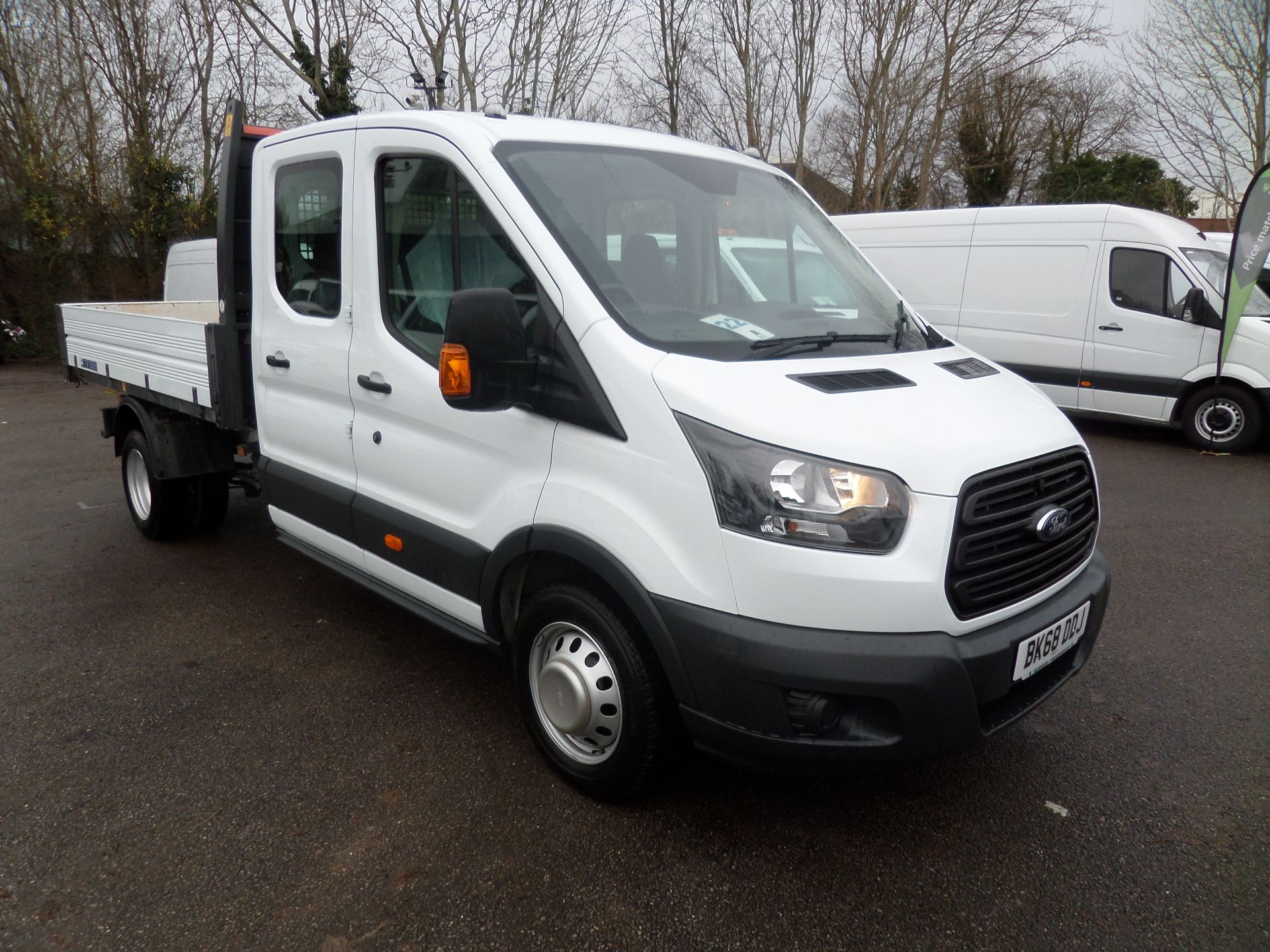2018 Ford Transit 2.0 Tdci 130Ps Double Cab Tipper Euro 6 (BK68DDJ)