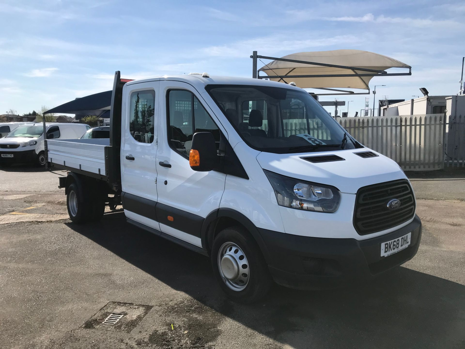 2018 Ford Transit 2.0 Tdci 130Ps One Stop D/Cab Tipper [1 Way] (BK68DHL00)