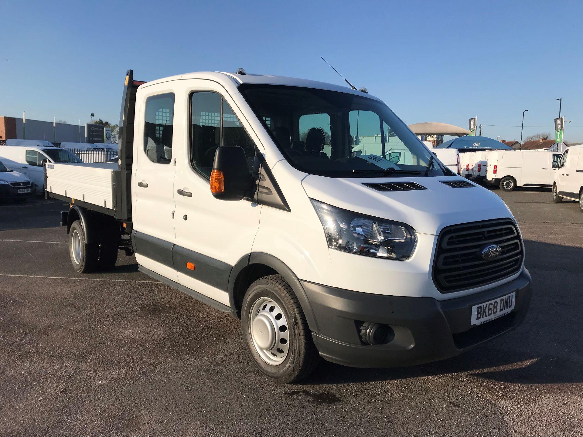 2018 Ford Transit   T350 TDCI D/CAB TIPPER 130PS EURO 6 (BK68DNU)
