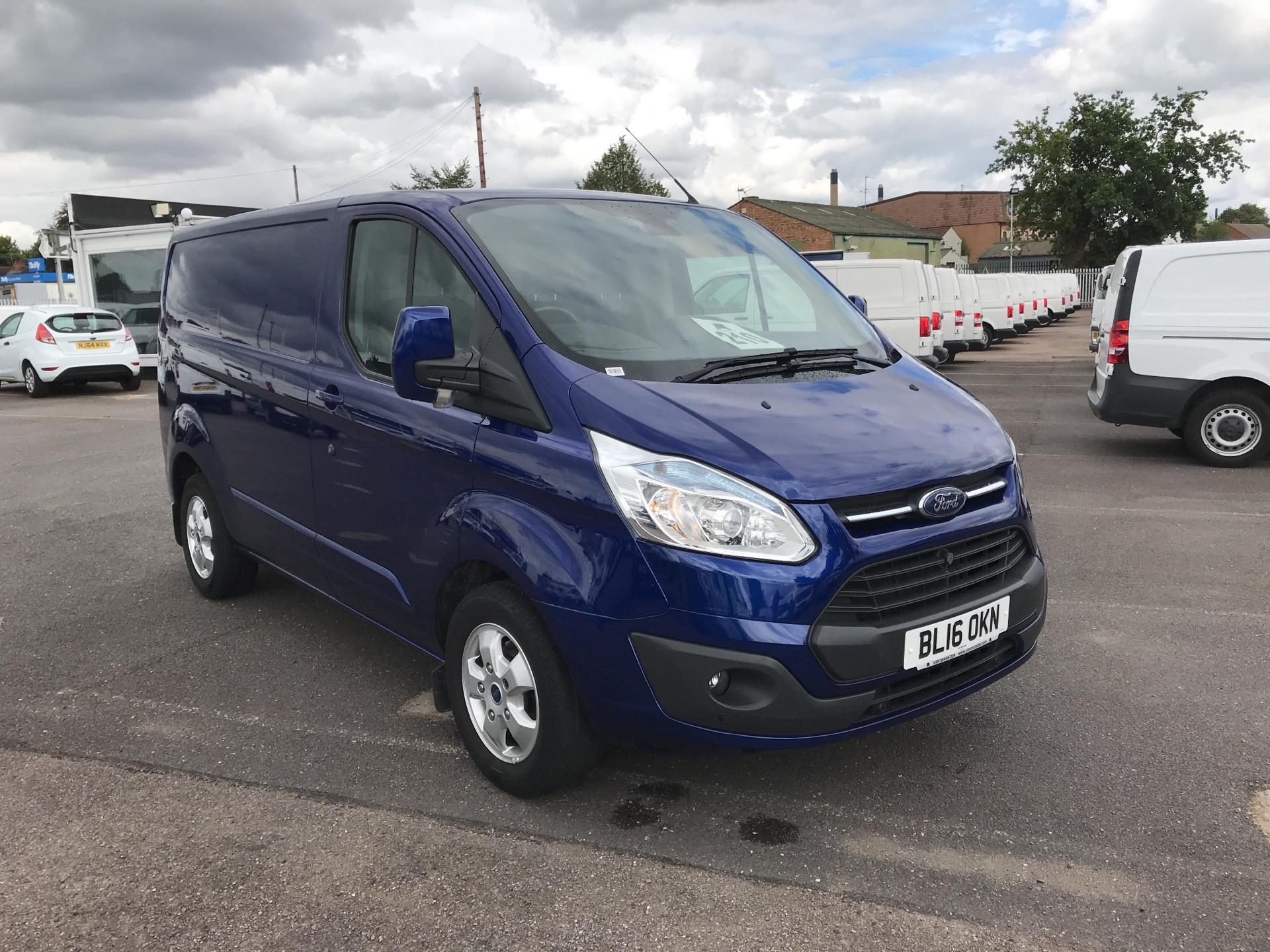 2016 Ford Transit Custom 270 L1 DIESEL FWD 2.2  TDCI 125PS LOW ROOF LIMITED VAN EURO 5 (BL16OKN)