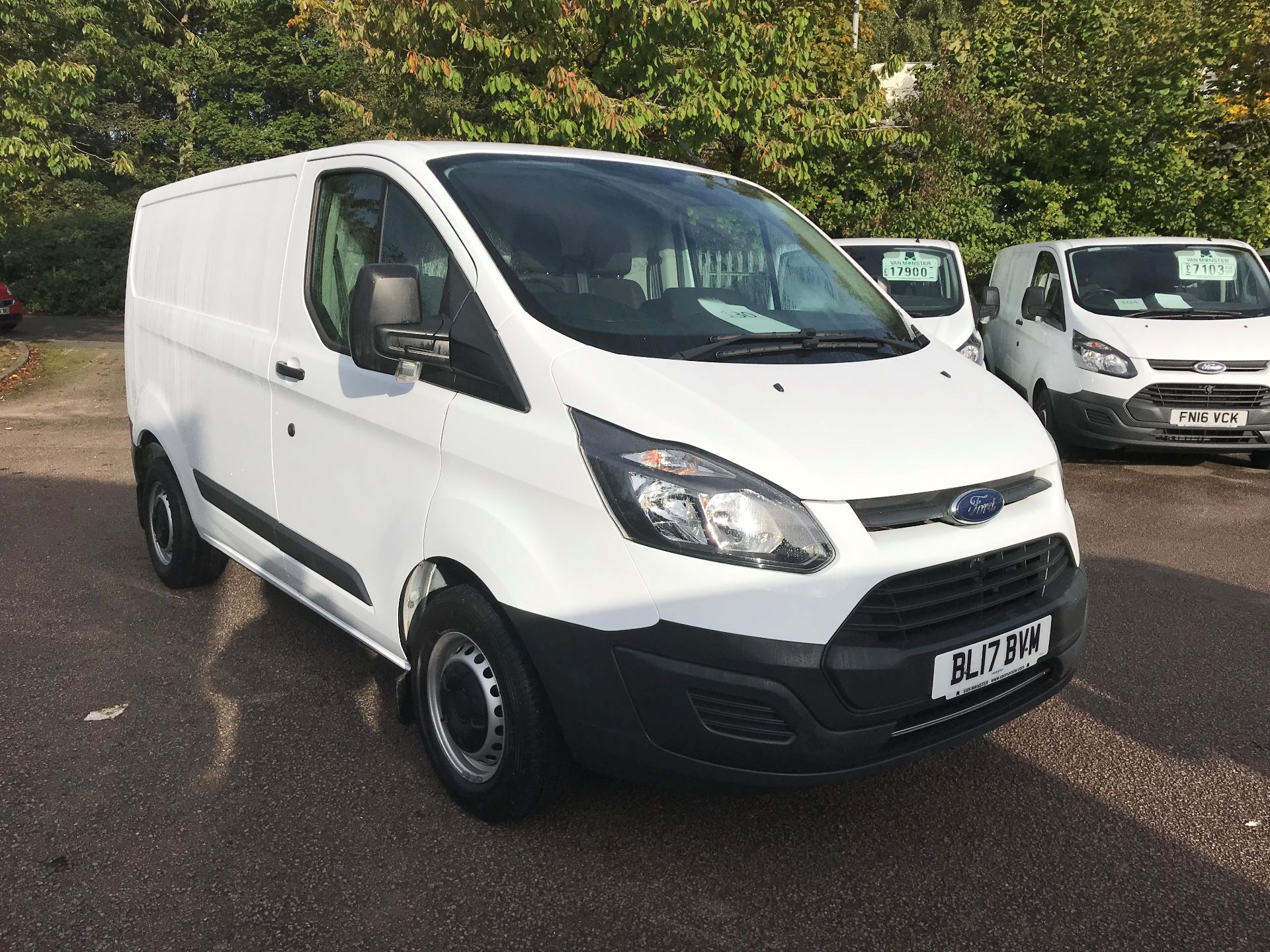 2017 Ford Transit Custom  290 L1 DIESEL FWD 2.0 TDCI 105PS LOW ROOF VAN EURO 6 (BL17BVM)